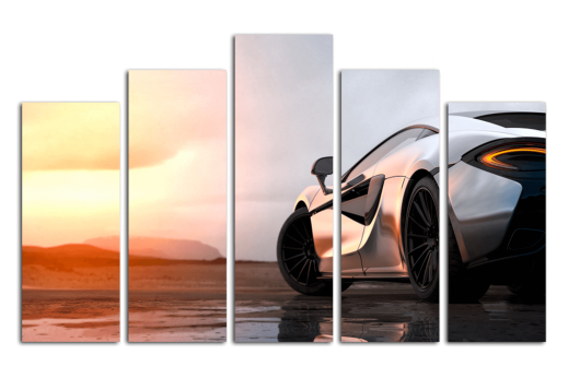Модульная картина Машина