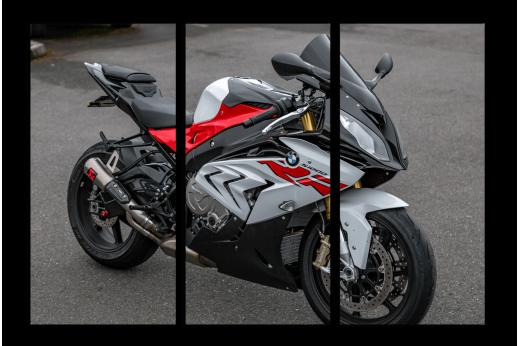 Модульная картина Мотоцикл BMW bike